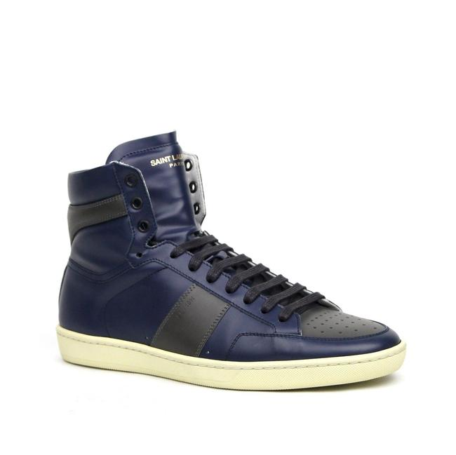 Item - Blue/Gray Men's and Leather Hi Top 41m/Us 8 418026 4368 Shoes