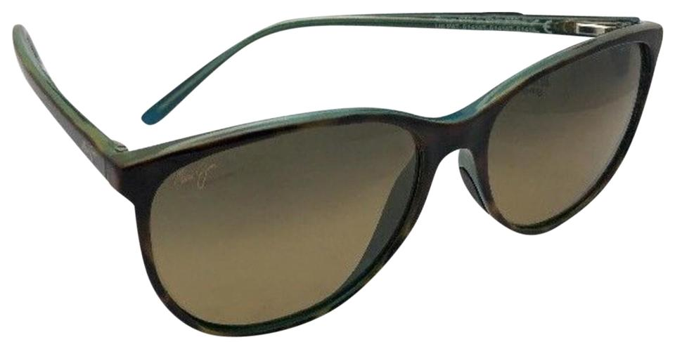 3e1c58fe9e3 Maui Jim Polarized MAUI JIM Sunglasses OCEAN MJ 723-10P Tortoise Peacock  Blue Image 0 ...