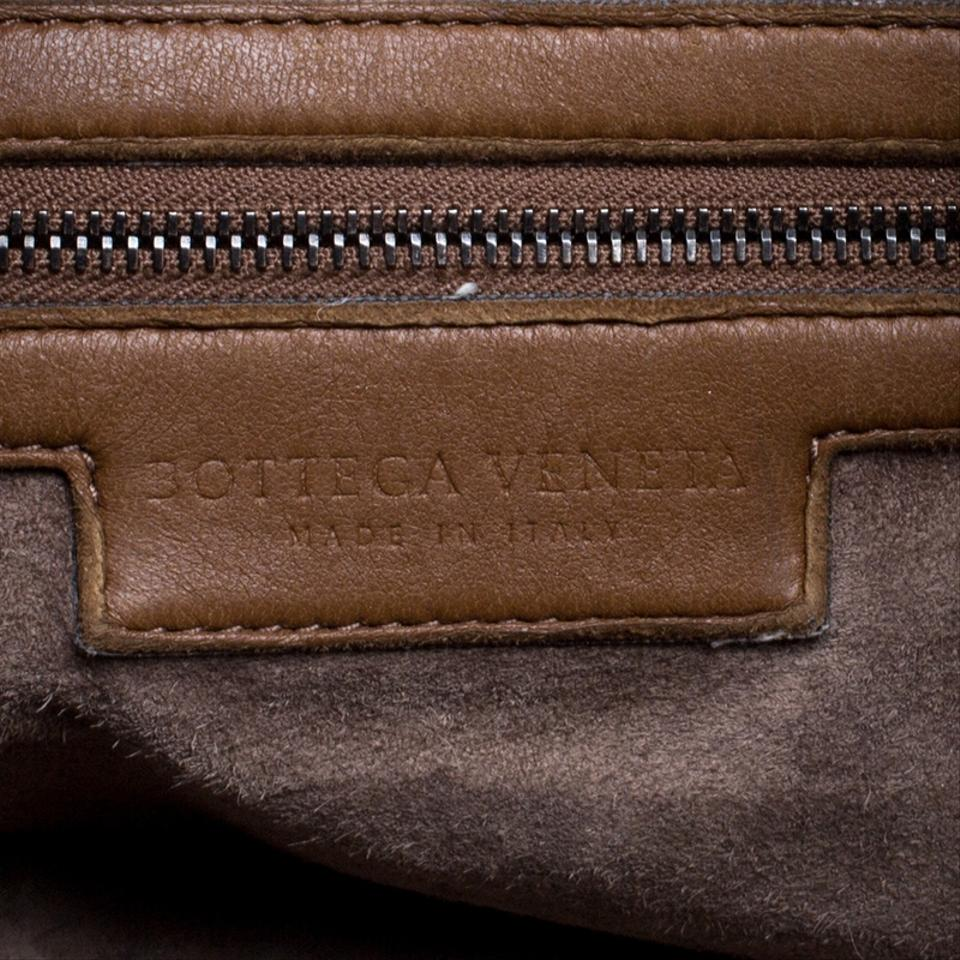 Hobo Veneta Bottega Intrecciato Leather Brown Bag q6wSIw0d