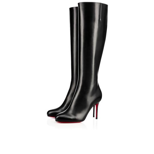 Preload https://img-static.tradesy.com/item/23849907/christian-louboutin-black-classic-vitish-100mm-tall-leather-knee-high-bootsbooties-size-eu-36-approx-0-0-540-540.jpg