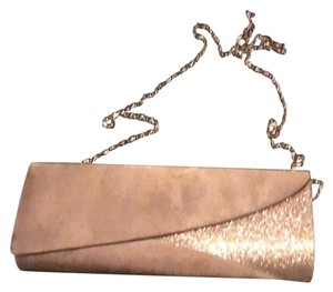 Lulu Townsend Pewter/Gray Gold Clutch