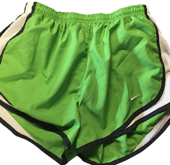 Item - Lime Green with Black and White Trim Running Activewear Bottoms Size 6 (S)