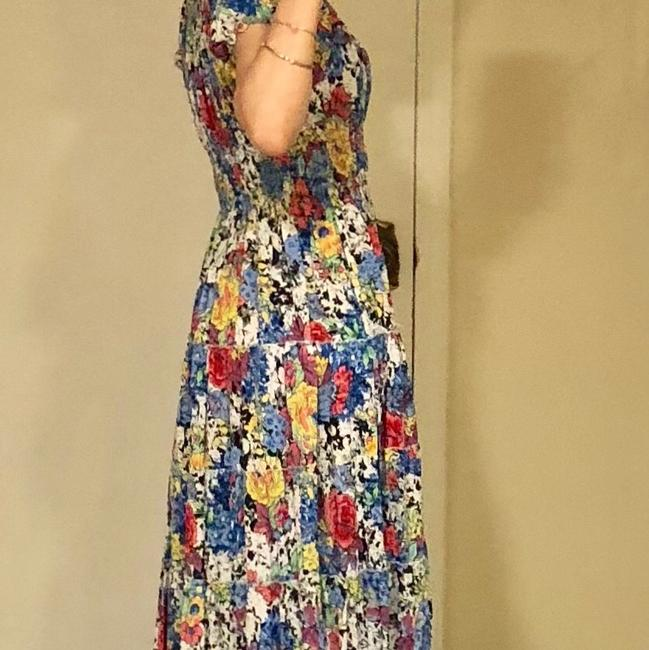 Multicolor Mid-length Short Casual Dress Size 6 (S) Multicolor Mid-length Short Casual Dress Size 6 (S) Image 4