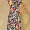 Multicolor Mid-length Short Casual Dress Size 6 (S) Multicolor Mid-length Short Casual Dress Size 6 (S) Image 8