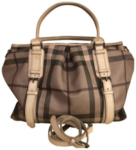 1c557209e Burberry Smoked Check Large Northfield Satchel - Tradesy