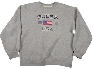 Guess America Yeah Flag Womens Sweater