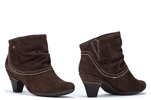 PIKOLINOS Turin Womens Suede Leather Heels Ankle Brown Boots