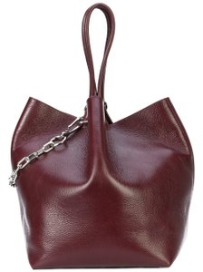 Alexander Wang Bucket Tote in CRANBERRY