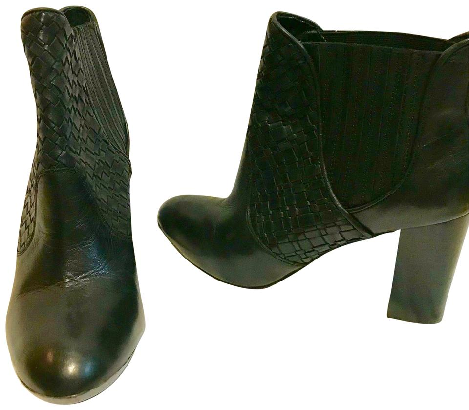 Elliott Lucca Ankle Black Leather Ankle Lucca M *mint Boots/Booties 7ce6f5