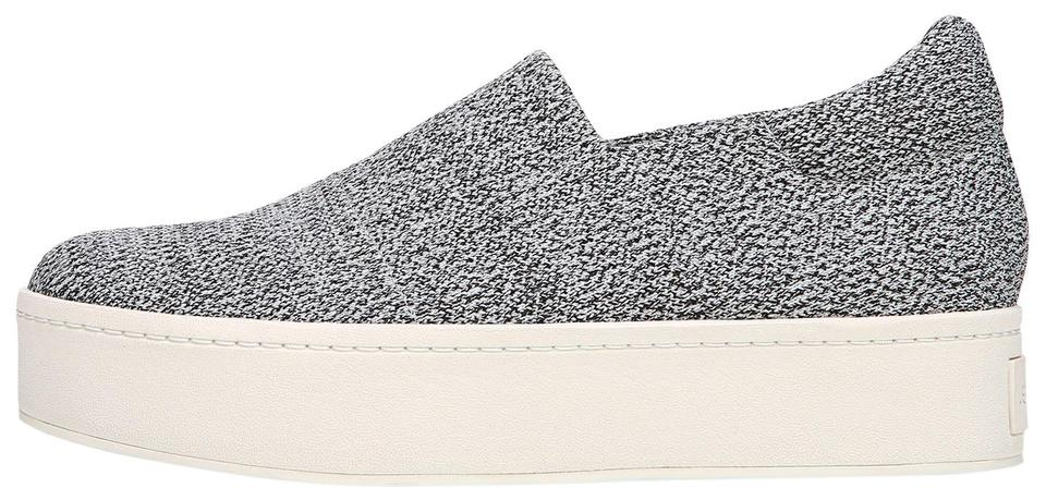 a6df7abf9ded Vince Grey Marl Walsh Stretch-knit Sneakers In Sneakers Size US 9.5 ...