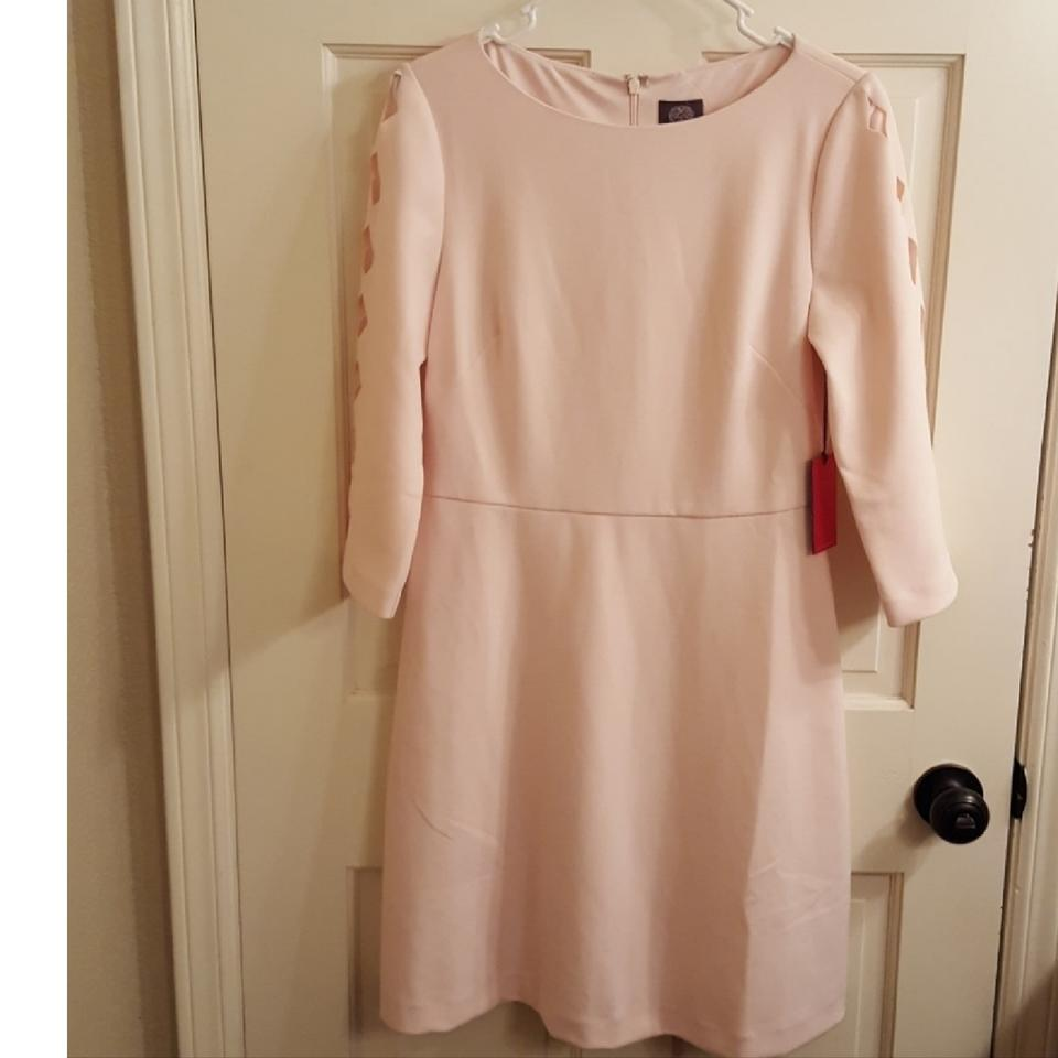 fad788aa200e8 Vince Camuto Blush Pink Mid-length Work/Office Dress Size 6 (S ...