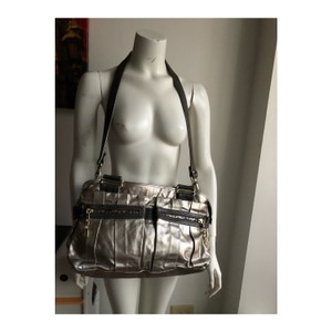 See by Chloé Satchel in sliver