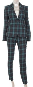 Gucci Green Checked Pattern Pantsuit S