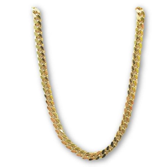 Preload https://img-static.tradesy.com/item/23853109/yellow-14k-69mm-miami-cuban-link-chain-22-necklace-0-0-540-540.jpg