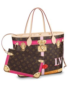 Louis Vuitton Limited Edition Neverfull Multicolor Artsy Tote in Monogram