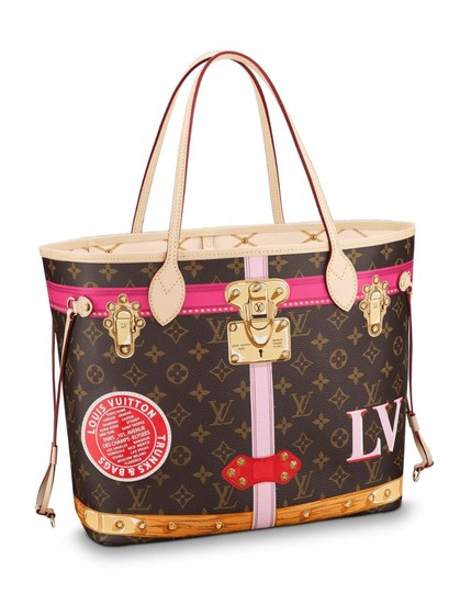 Louis Vuitton Limited Edition Neverfull Multicolor Artsy Tote in Monogram Image 4