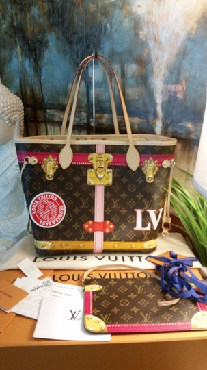 Louis Vuitton Limited Edition Neverfull Multicolor Artsy Tote in Monogram Image 9