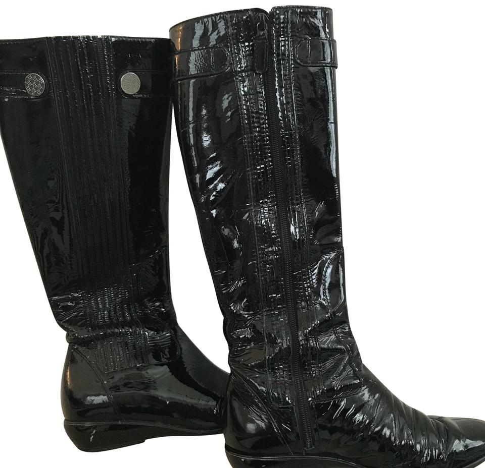 bf535752d54 Cole Haan Black Patent Leather Boots/Booties Size US 6 Regular (M, B ...
