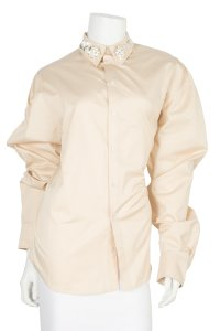Y/Project Button Down Shirt blush