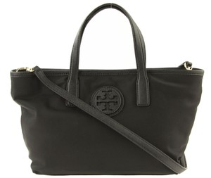 Tory Burch Purse Nylon Ew Tote in Black