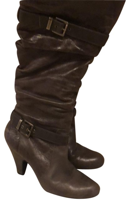 Jessica Simpson Grey Boots/Booties Size US 10 Regular (M, B) Jessica Simpson Grey Boots/Booties Size US 10 Regular (M, B) Image 1