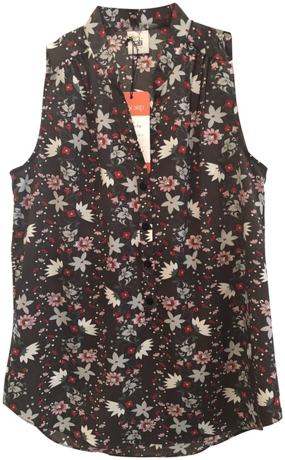 CAbi Fiesta Floral New Plaza Blouse Size 4 (S) CAbi Fiesta Floral New Plaza Blouse Size 4 (S) Image 1