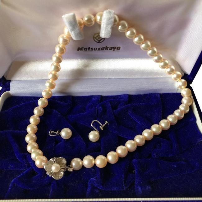 Pearl Akoya and Earrings Set Size 9mm Necklace Pearl Akoya and Earrings Set Size 9mm Necklace Image 1