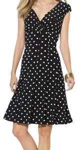 Lauren Ralph Lauren short dress black and white Polka Dots on Tradesy