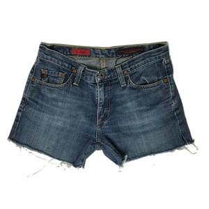 AG Adriano Goldschmied Denim Shorts-Distressed