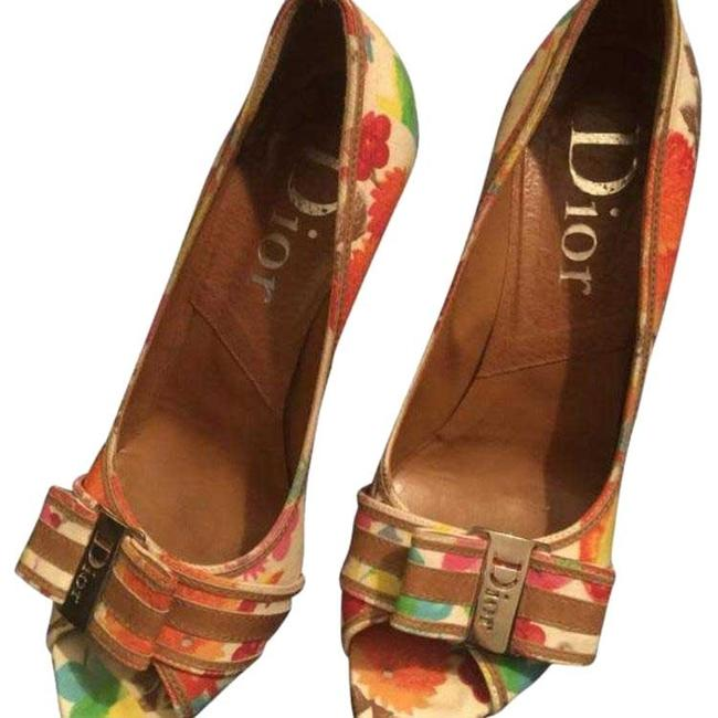 Dior Multicolor Pumps Size US 9.5 Regular (M, B) Dior Multicolor Pumps Size US 9.5 Regular (M, B) Image 1