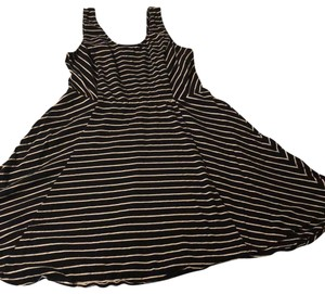Mossimo Supply Co. short dress black with white stripe on Tradesy