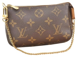 Louis Vuitton Travel Wallet Monogram brown Clutch