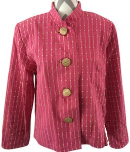 ORVIS Jacket Large Buttons Pink Blazer