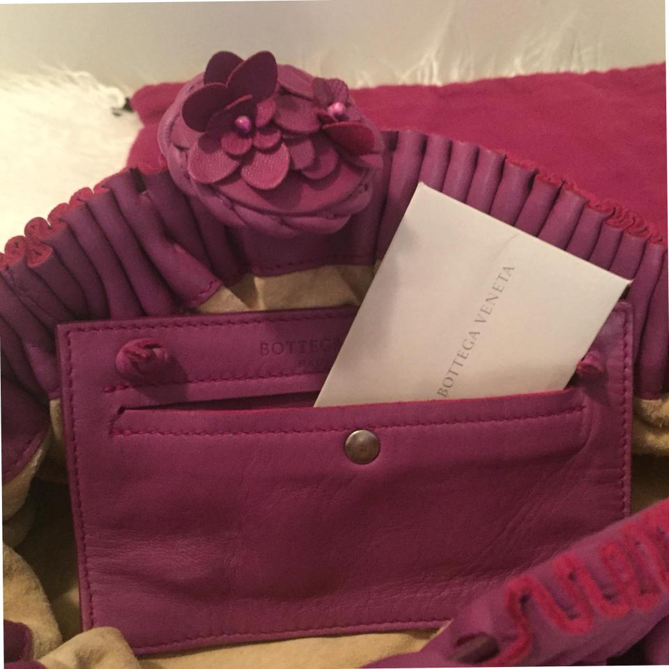 Bottega Bottega Purple Leather Veneta Clutch Veneta Purple 6wwaT4