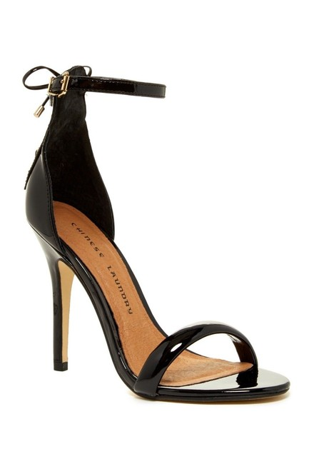 Chinese Laundry Black Jealous Laced Sandals Size US 7 Regular (M, B) Chinese Laundry Black Jealous Laced Sandals Size US 7 Regular (M, B) Image 1