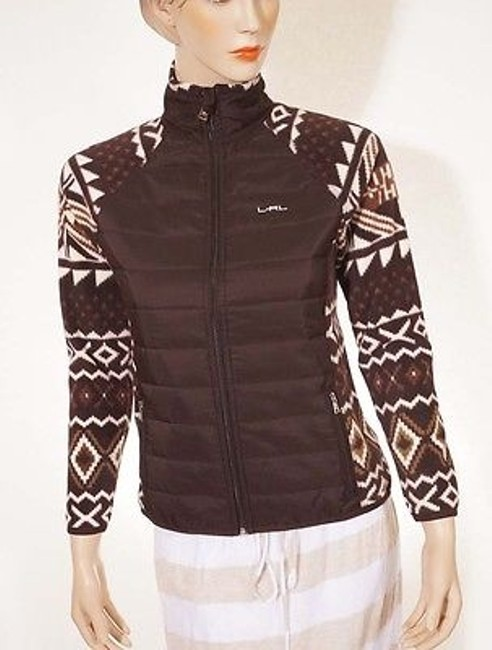 Preload https://img-static.tradesy.com/item/2385514/ralph-lauren-active-petite-womens-tribal-aztec-full-zip-fleece-jacket-brown-ps-0-0-650-650.jpg