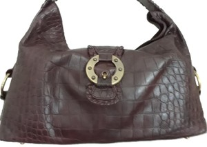 Desmo Leather Italian Leather Shoulder Bag