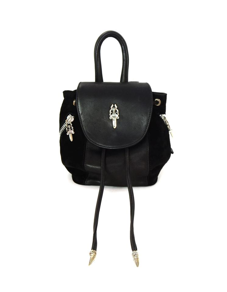 46470655bc7b Chrome Hearts Mini Sterling Silver Bella Hadid Backpack Image 0 ...
