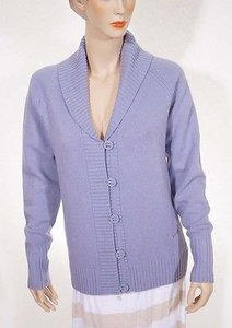Nike Golf 541857 Womens Wool Button Down Shawl Collar Cardigan Sweater