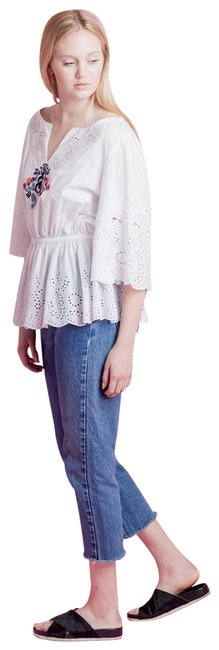Preload https://img-static.tradesy.com/item/23855438/suno-white-embroidered-blouse-size-6-s-0-1-650-650.jpg