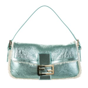 Fendi Purse Leather Baguette