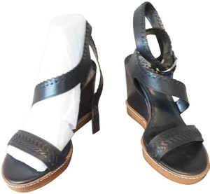 Vince Camuto Dark Brown Wedges