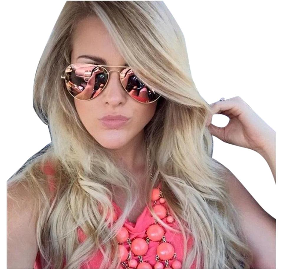 ce1a74c1d Ray-Ban Pink W Copper Flash Lens W/ Silver Frame Rb3025 019/Z2 Sunglasses