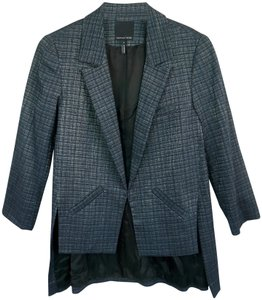 Marissa Webb Menswear New York Office Minimalist blue/black Blazer