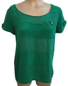 Odille Top Green
