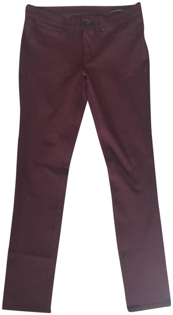 Preload https://img-static.tradesy.com/item/23856083/rag-and-bone-burgundy-stretch-jeans-skinny-pants-size-4-s-27-0-1-650-650.jpg