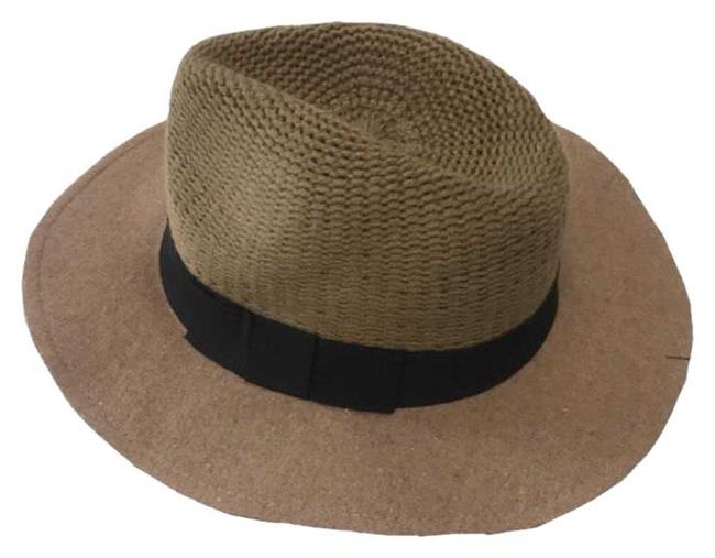 Item - Khaki Knit Panama Hat