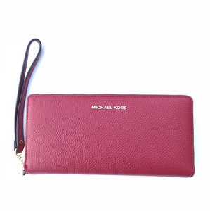 15a6a77bc940 Michael Kors Oyster Jet Set Travel Saffiano Leather Continental ...