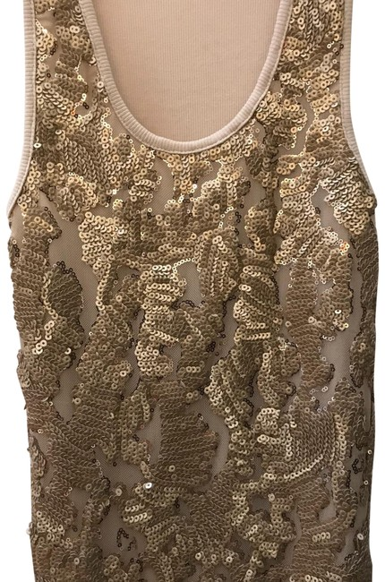Preload https://img-static.tradesy.com/item/23856466/beige-w-gold-sequins-in-with-knit-back-tank-topcami-size-8-m-0-1-650-650.jpg