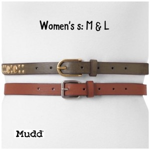 Mudd L Belt Set